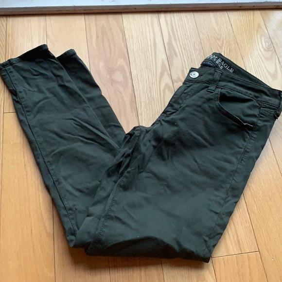 Dark green American Eagle pants